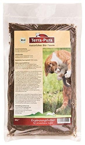 Naturale Biologico di taurina 200G Terra Di Pura per gatti
