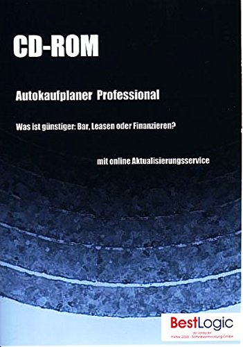 Autokaufplaner Professional,  1 CD-ROM Was ist günstiger: Bar, Leasen oder Finanzieren? Für...