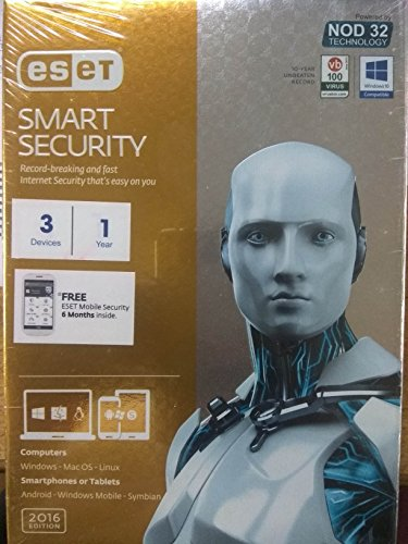 ESET® Multi-Device Security Pack ( 3 Devices 1 Year ) With 6 Month Mobile Security.  available at amazon for Rs.1299