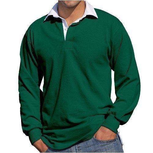 Front Row - Maglietta a maniche lunghe da rugby Verde