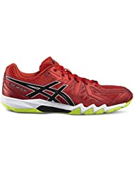 ASICS GEL BLADE VERMILION BLACK SAFETY YELLOW
