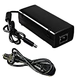 iNextStation AC Brick Adapter Power Supply for Xbox 360 E UK Mains Charger Cable 115W (For Xbox360 E)