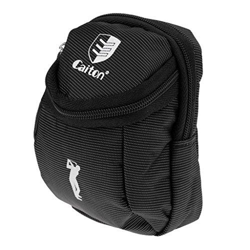 SGerste Tragbarer Mini-Ball-Tasche für Golf-Tees, Divot Tool, Hat Clip Ball Marker