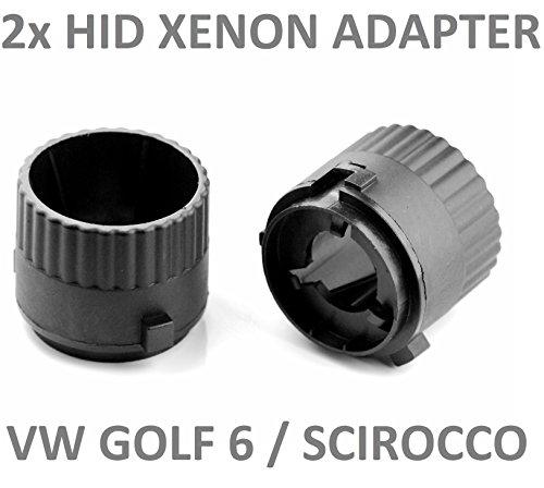 LP B561 2 Stück HID Xenon Adapter Umrüstung Fassung Halter Lampenfassung für Xenonbrenner Brenner Lampen -
