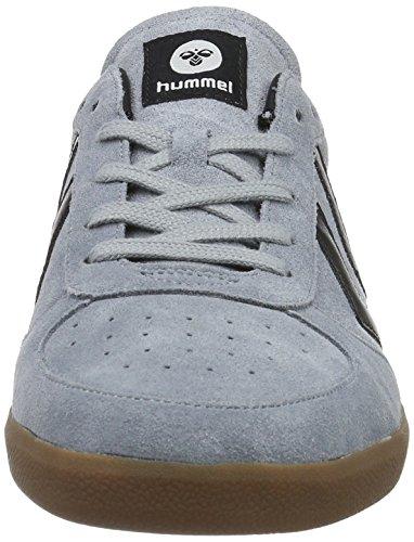 Hummel Victory, Scarpe da Ginnastica Basse Unisex – Adulto Grigio (Tradewinds)