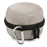 17years tragbar, der Schutzhülle Hard Case Box Tasche für Amazon Echo Dot, silbergrau, Einheitsgröß