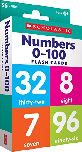 Numbers 0 - 100 Flash Cards