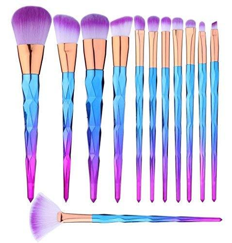 Dailymall, Set de brochas para maquillaje - 12 brochas