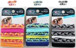 Mixed Color and Style Ouchless Elastic Ponytail holder hair ties