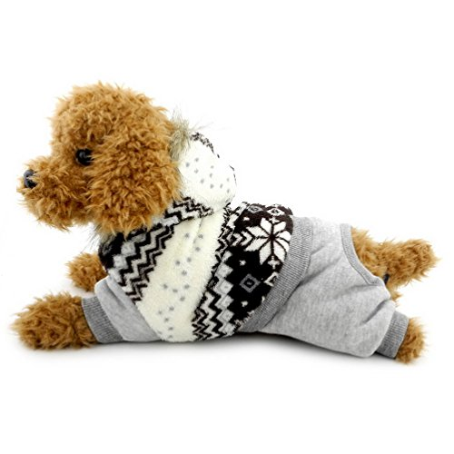 Selmai copo nieve pequeño perro ropa perro Mono Perro