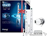 Oral-B Genius 8900 Electric Rechargeable Toothbrush Powered by Braun - Two Handle Pack - Exclusive to Amazon