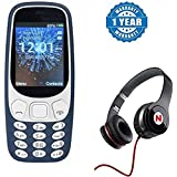 Captcha Motorola Moto Z Play Compatible Certified A3310 Dual Sim Mobile With Money Detector Light And BATTERY SAVER Option With Mega Bass Sound Headphones With (1 Year Warranty)