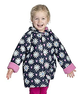 71c3d0a32232 Hatley Girl s Printed Raincoat  Amazon.co.uk  Clothing