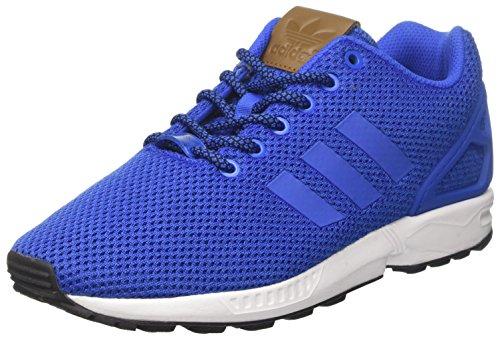 adidas Herren ZX Flux Sneaker, Blau (Blue/Blue/Footwear White), 43 1/3 EU