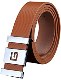 28a70d483 Akruti FEITONG Fashion Designers Men High Quality Automatic Buckle Leather  luxury Belts Business Male Alloy buckle