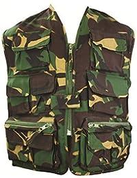 Highlander - Gilet Ranger camouflage pour enfants