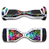 Pioneer Clan Self-Balancing Electric Scooter Skin/ Skate Hover Board Sticker / Decal for Self Balance Mobility Longboard / Protective Cover Vinyl Case for 2 Wheel Scooter Bluetooth Board -Mette Finish (Style 2)