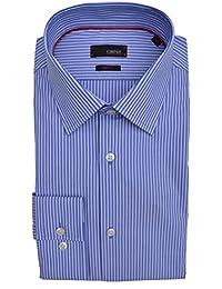 Cinque Hemd Cisunny Slim Fit Baumwolle Blau Weiß gestreift Größe 38