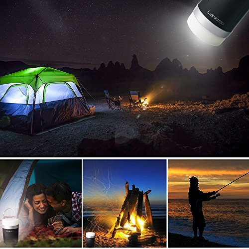 51oPDrdavXL. SS500  - Lanktoo 2 in 1 Rechargeable Camping Lantern & Power Bank for Hiking Fishing Emergencies - Super Bright, Lightweight, Water Resistant.