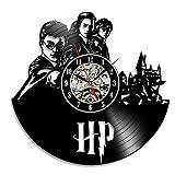 Harry Potter Hermine Vinyl Record Wanduhr - dekorieren Sie Ihr Haus mit moderner Kunst - Geschenk für Männer Erwachsene Mädchen und Jungen Weihnachten - gewinnen Sie einen Preis für EIN Feedback