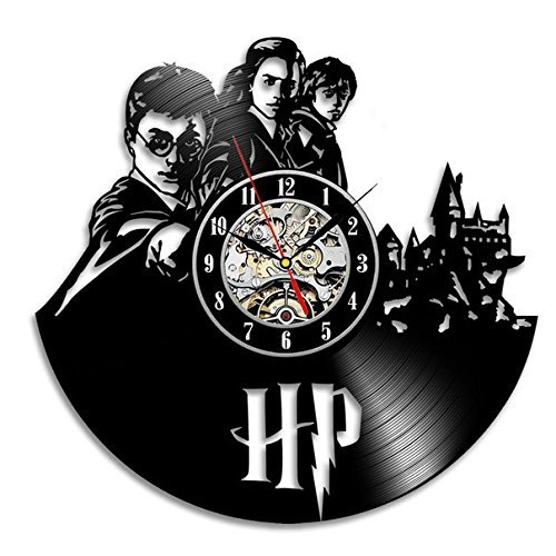 Meet Meauty Wow! Reloj de Pared con Disco de Vinilo Harry Potter Hermi