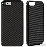 #1 DES VENTES AUX JAPON! Coque iPhone 7 de Protection Nillkin motif Fibre de Carbone avec Plaque Métallique Intégrée pour une utilisation avec votre Support Voiture Magnétique