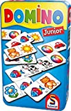 Schmidt Spiele 51240 Domino: Domino Junior in Metalldose