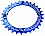 Race Face Single Narrow Wide Chainring 104 BCD blau Ausführung