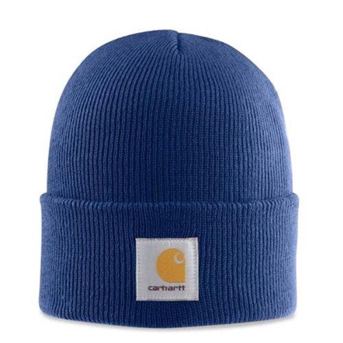 Carhartt - Casquette Acrylique - Bleu Ski l'hiver Chapeau Beanie