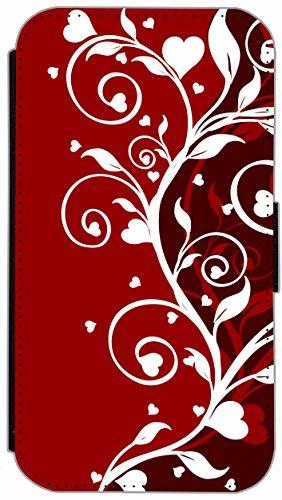 Flip Cover für Apple iPhone 6 / 6S (4,7 Zoll) Design 363 Hanf Marihuana Pflanze Hülle aus Kunst-Leder Handytasche Etui Schutzhülle Case Wallet Buchflip mit Bild (363) 354