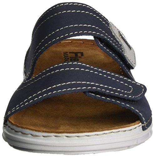 Fischer Herren Pantolette Blau (Marine)