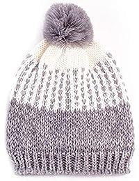 Kobay Le Donne mantengono Caldo Il Cappello di Lana Lavorato a Maglia dei  Cappelli Invernali 0bb5938a51e3