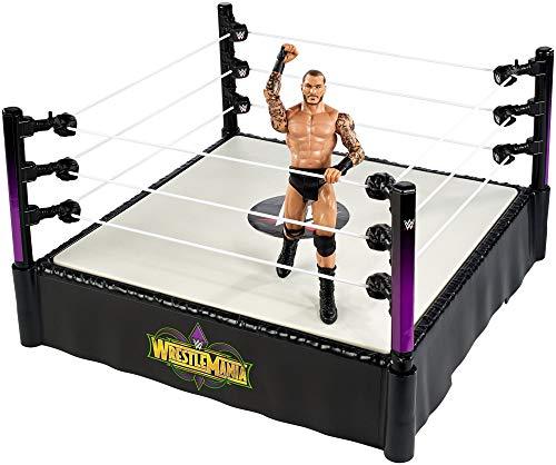 Mattel FMH82 WWE WrestleMania Ring inklusiv 15 cm Randy Orton Figur