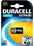 DURACELL Batterie cam?ra Duracell Ultra M3 CR123A (1 unit? sous blister), 3V, Lithium
