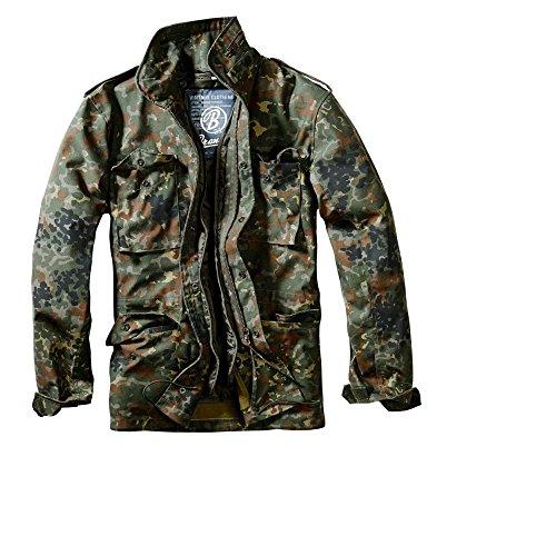 Brandit M65 Standard Outdoor Jacke Parka B-3108 Flecktarn
