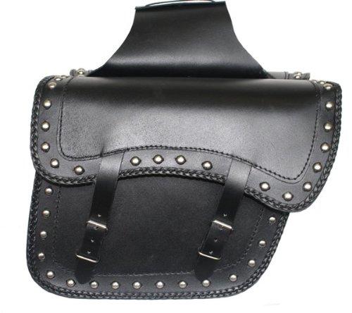Motorrad Satteltasche Seitentasche Tasche Motorradtaschen Packtaschen saddlebag aus Büffelleder