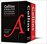 Collins English Dictionary and Thesaurus Boxed Set: All the words you need, every day (Collins Dictionaries)