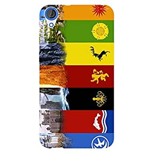 EYP Game Of Thrones GOT Back Cover Case for HTC Desire 820Q