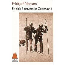 En skis à travers le Groenland
