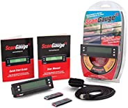 ScanGauge - SG2 II Ultra Compact 3-in-1 Automotive Computer with Customizable Real-Time Fuel Economy Digital G
