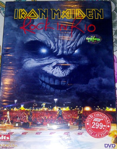 Iron Maiden Rock in Rio 2001 new sealed region free NTSC dvd import (Iron Maiden Rio)