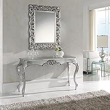 Consola barroca plata elegance K-57