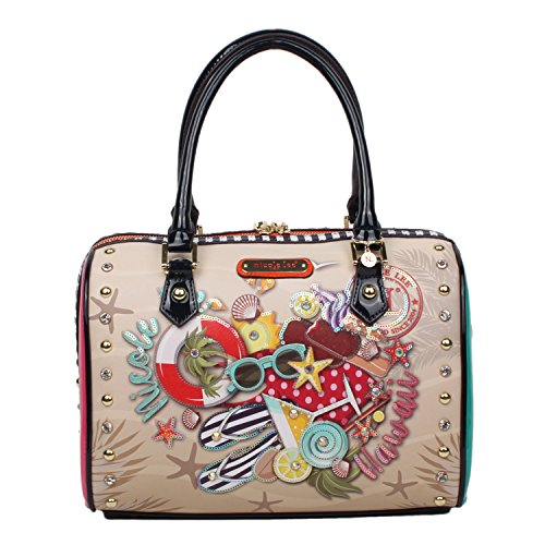 nicole-lee-nl-loves-hawaii-print-boston-bag