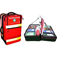 """Notfallrucksack""""Premium-X1"""" Arztpraxis mit allen erforderlichen Notfallartikeln gem. DIN 13232 preisvergleich bei billige-tabletten.eu"""