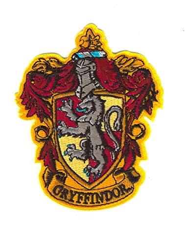 Set Products Harry Potter Gryffindor Bügelbilder - Iron on Patch - Bügeleisen Patches zum Anpassen Ihrer Kleidung oder Taschen - Gryffindor, Poudlard - Mehrere Modelle verfügbar
