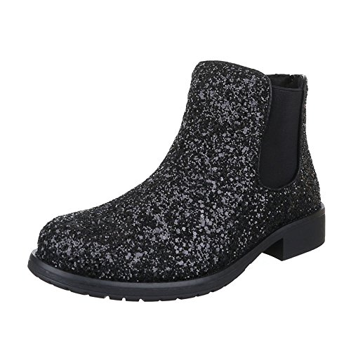 Donna Nera Boots design Chelsea Ital C5ngqw