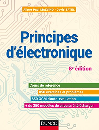 Principes d'lectronique - 8e d. - Cours et exercices corrigs