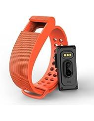 iMusi Smart Sport Uhr Armband mit Erzfrequenz Messgerät Fitness Schlaf Tracker Bluetooth