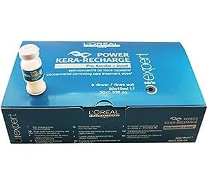 L'Oreal Keratin-Professional Pro-Keratin Power Kera-Recharge Expert Serie Hair Treatment Dose (30 viols x 10 ml)