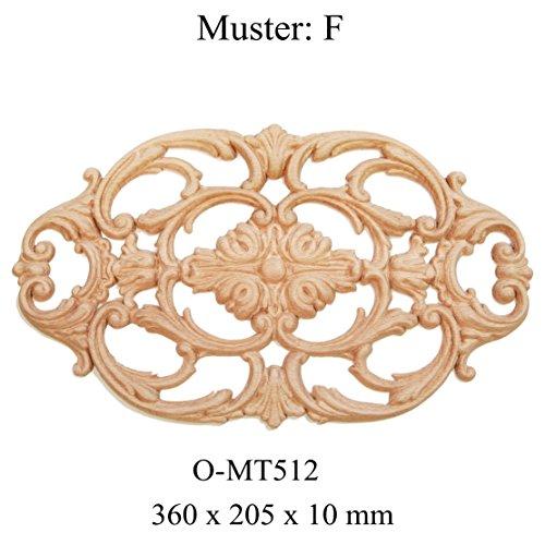Holzornament Ornament Holz Verzierung (F)